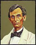 "Lincoln"", May 7 1858  2005 oil on cavas 51 x 40.5 cm"