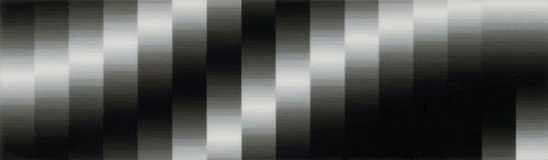 Miniatyr 1965 oilvarnish on plastic film 4.5 x 16 cm
