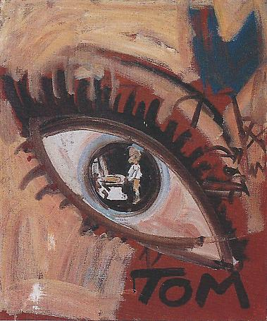 Tom 1982 oil on canvas 47 x 30 cm