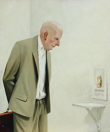 Temoinage 2006 oil on canvas 140 x 120 cm
