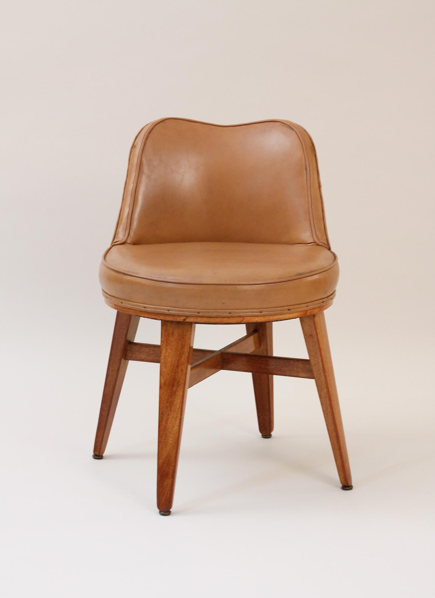 Ed Wormley for Dunbar  Writing Table and Swivel Chair 4