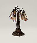 Tiffany Studios <br> 10-Light Lily Table Lamp