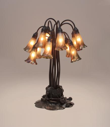 Tiffany Studios <br> 12-Light Lily Table Lamp 2