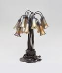 Tiffany Studios <br> 12-Light Lily Table Lamp