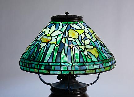 Tiffany Studios Daffodil Table Lamp 4