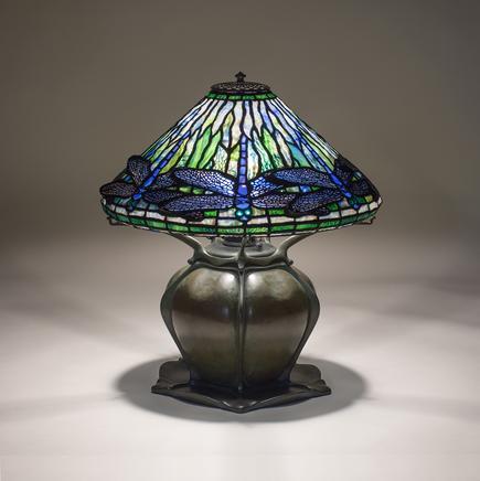 Tiffany Studios  Early Dragonfly  Table Lamp 1