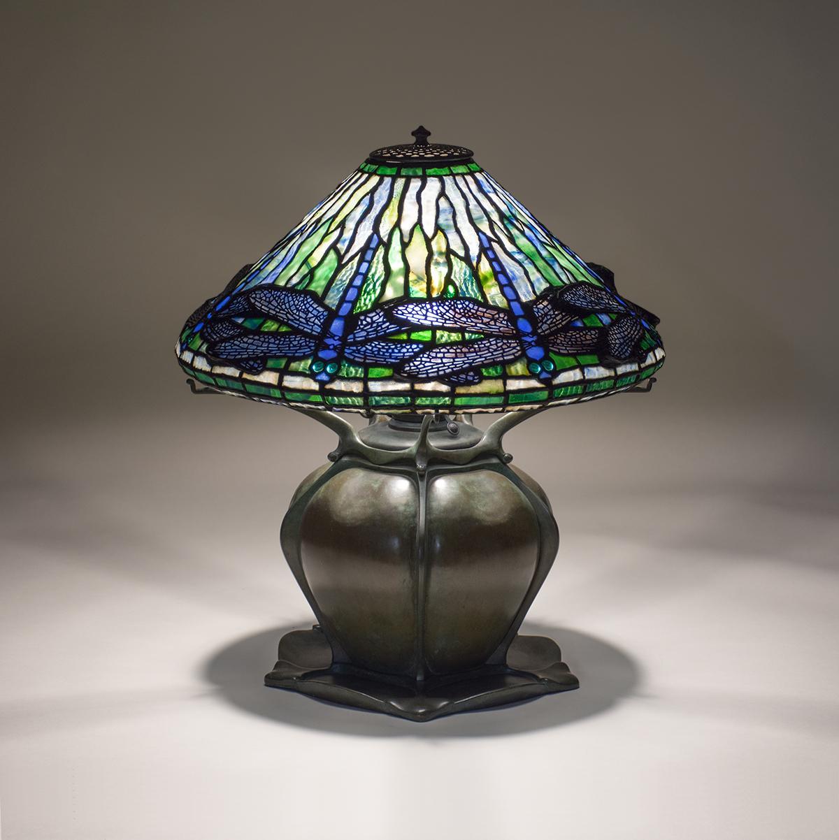 Tiffany Studios  Early Dragonfly  Table Lamp 2