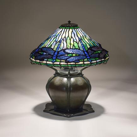 Tiffany Studios  Early Dragonfly  Table Lamp 3