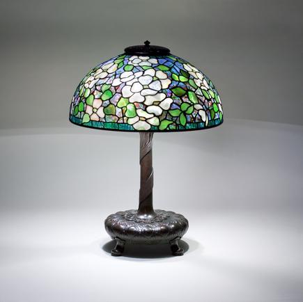 Tiffany Studios <br> Dogwood Table Lamp 1