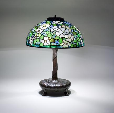 Tiffany Studios <br> Dogwood Table Lamp 2