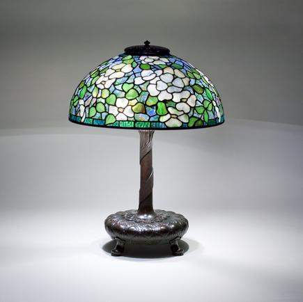 Tiffany Studios <br> Dogwood Table Lamp 2