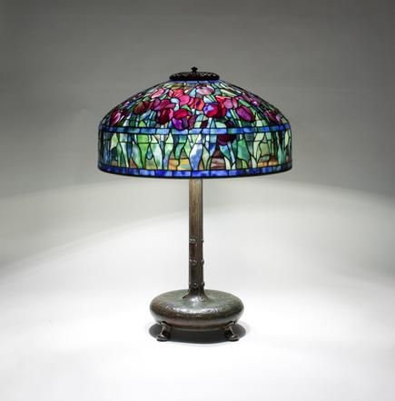 Tiffany Studios <br> Tulip Table Lamp 1