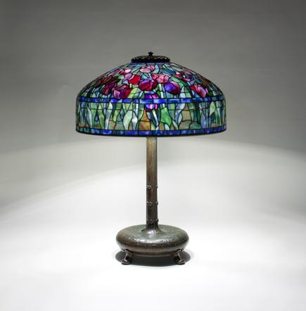 Tiffany Studios <br> Tulip Table Lamp 2