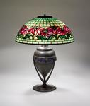 Tiffany Studios <br> Poinsettia Table Lamp