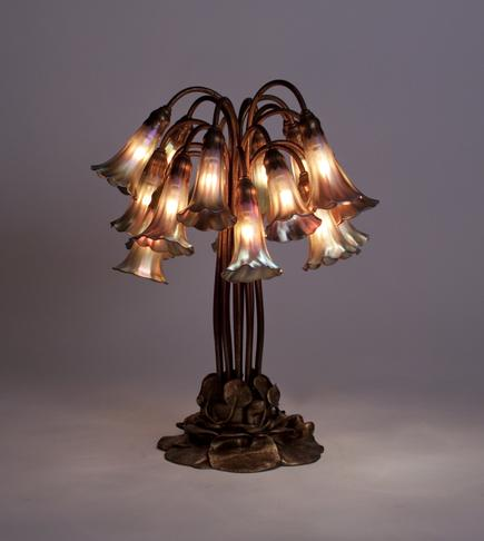 Tiffany Studios <br> 18-Lily Lily Table Lamp 2