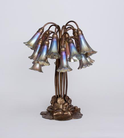 Tiffany Studios <br> 18-Lily Lily Table Lamp 1