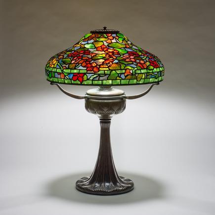 Tiffany Studios  Nasturtium Table Lamp 1