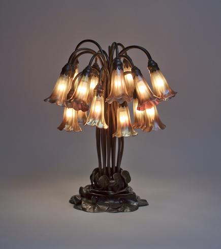 Tiffany Studios <br> 18-Light Lily Table Lamp 2
