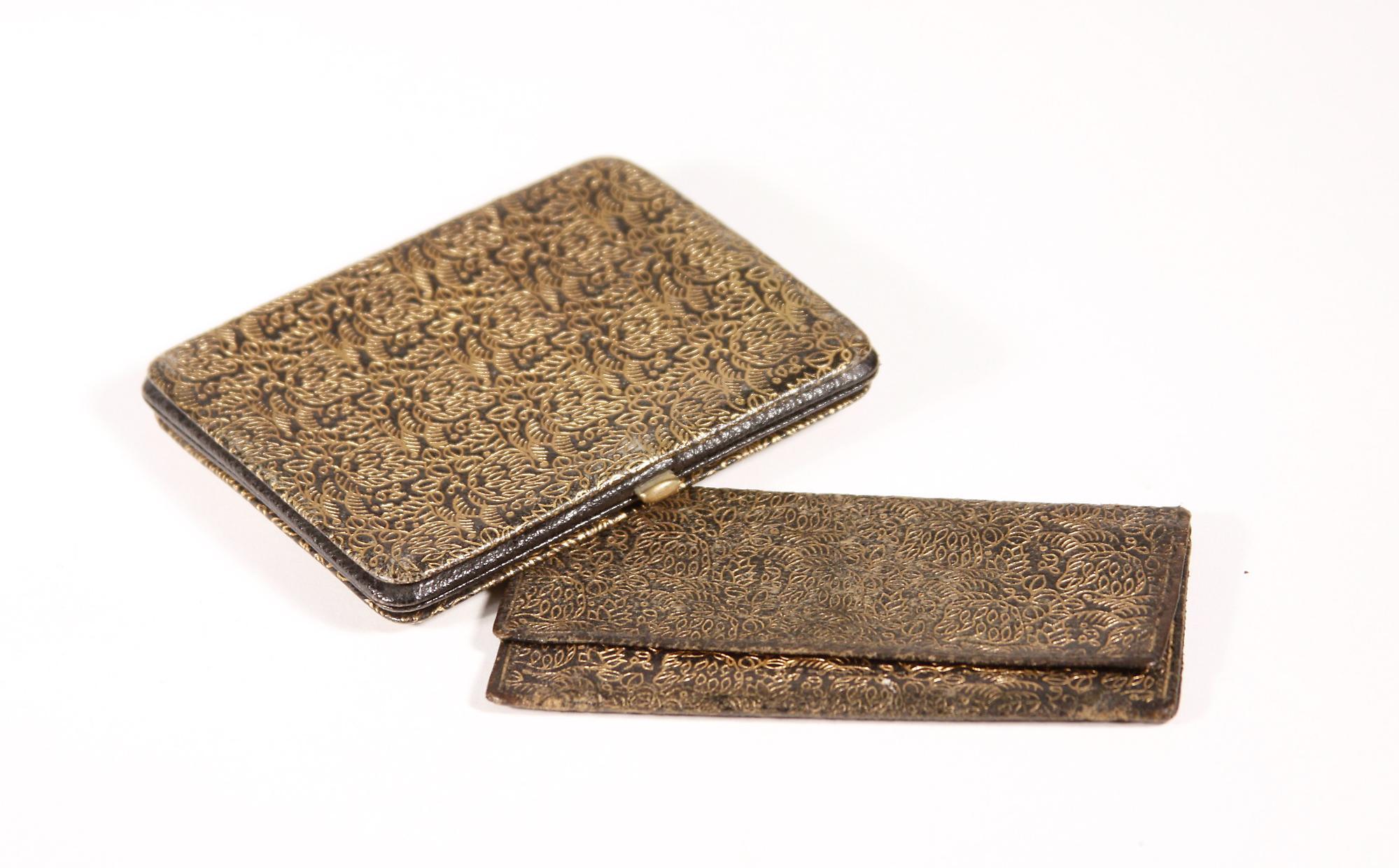 Dagobert Peche Leather Cigarette Case and Card Holder 3