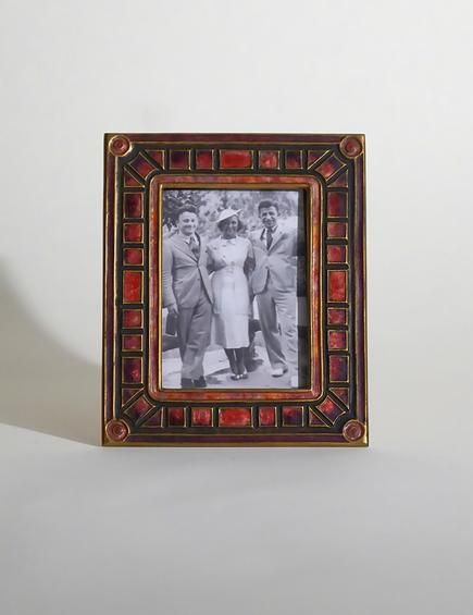 Louis C. Tiffany Furnaces  'Art Deco' Picture Frame 1