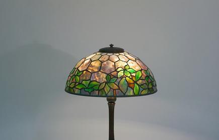 Tiffany Studios   Woodbine  Table Lamp 2