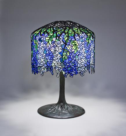 Tiffany Studios <br> Wisteria Table Lamp 1
