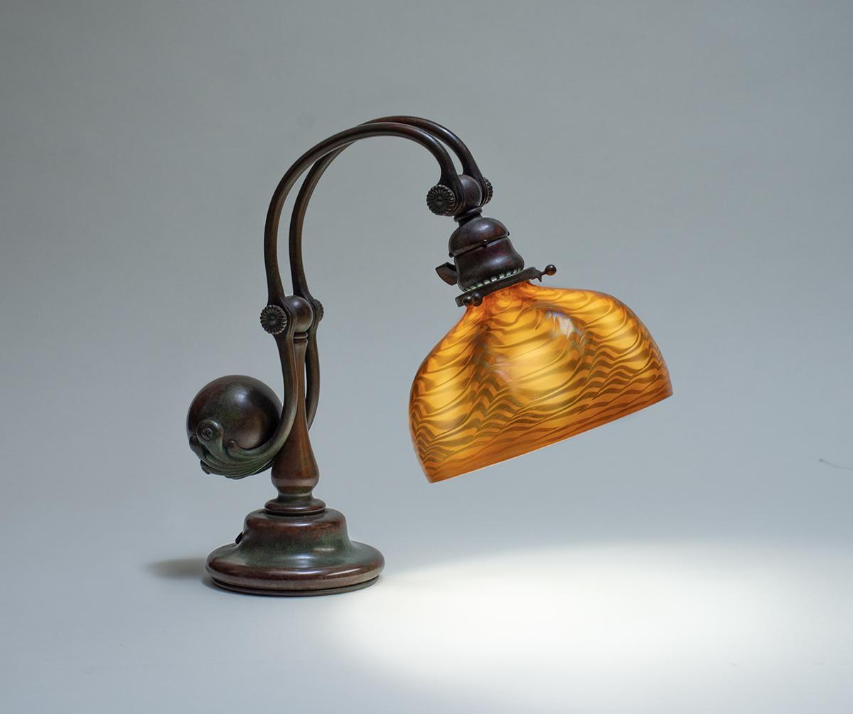Tiffany Studios  Counter-Balance Desk Lamp 1