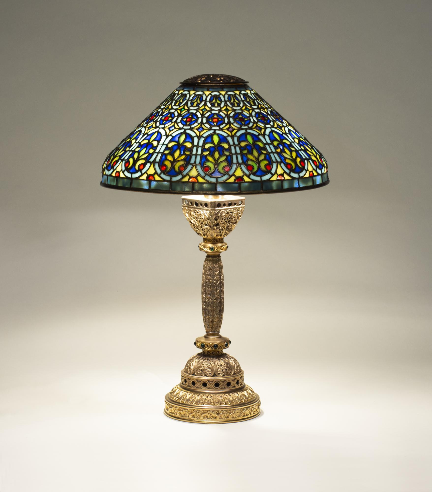 Tiffany Studios   Venetian  Desk Lamp 1