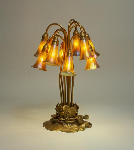 Tiffany Studios  10-Light Lily Lamp 1
