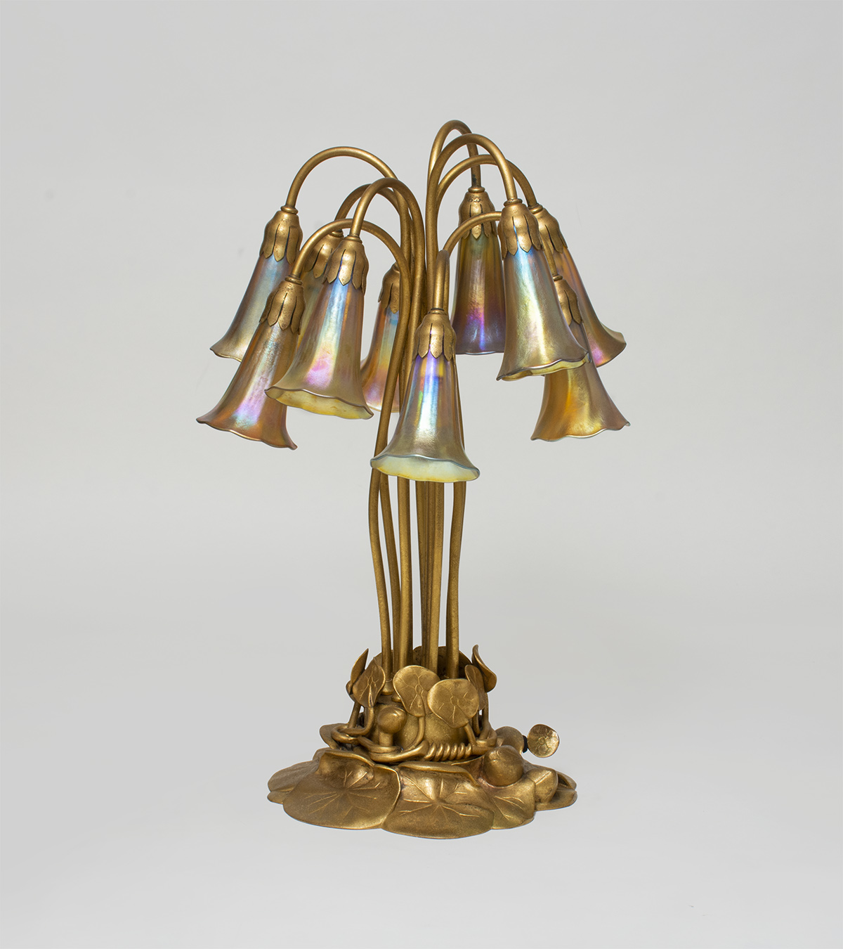 Tiffany Studios  10-Light Lily Lamp 2