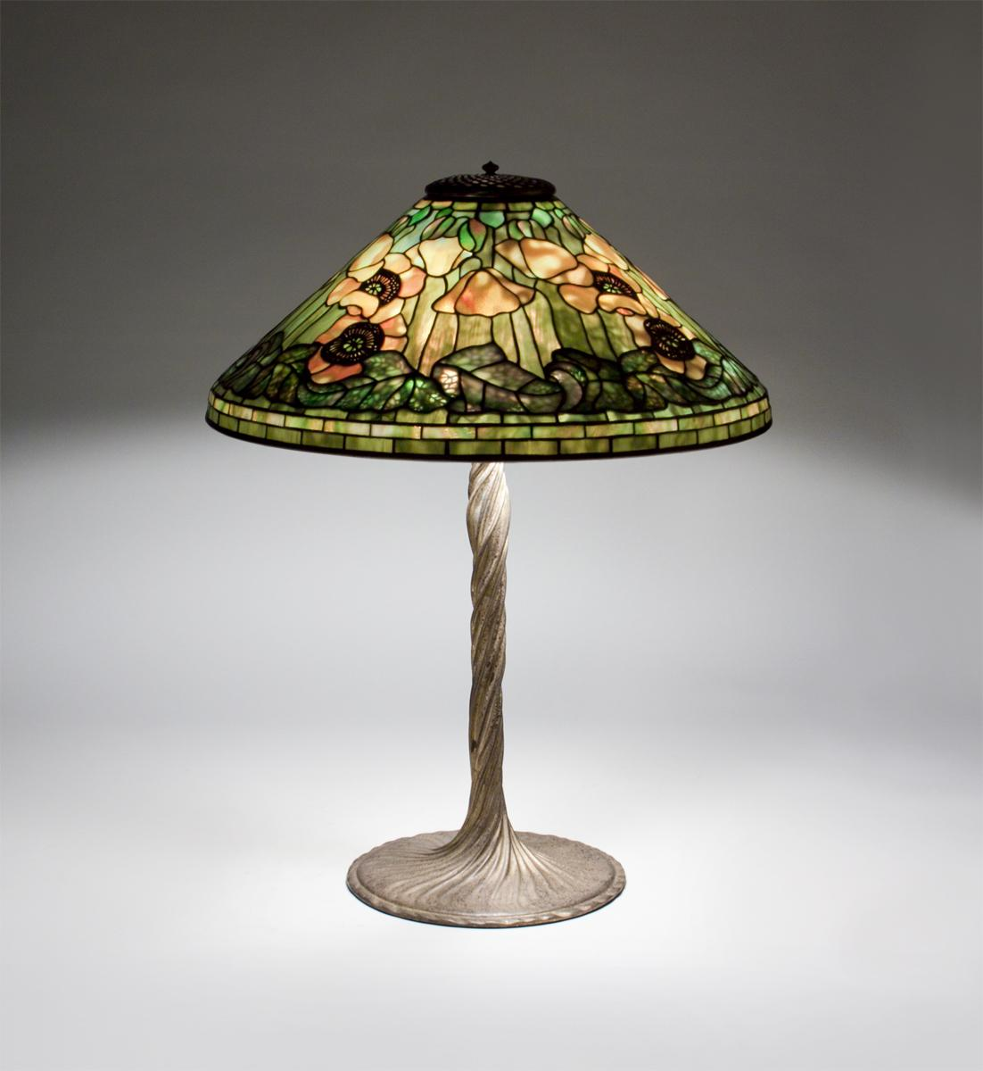 Tiffany Studios  Poppy Table Lamp 2