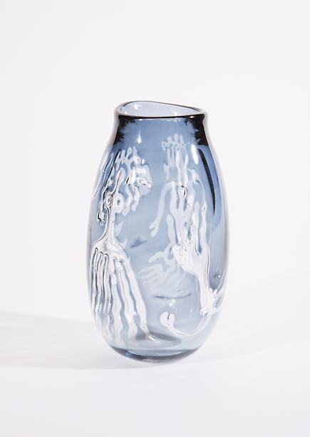 Orrefors Rare 'Ariel' Glass Vase 1