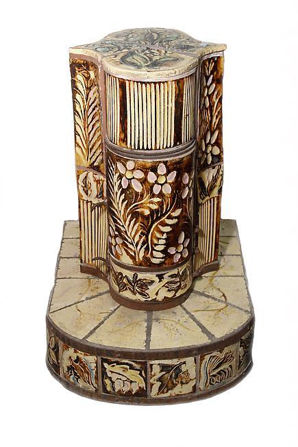 Henry Varnum Poor  Ceramic Stove 3