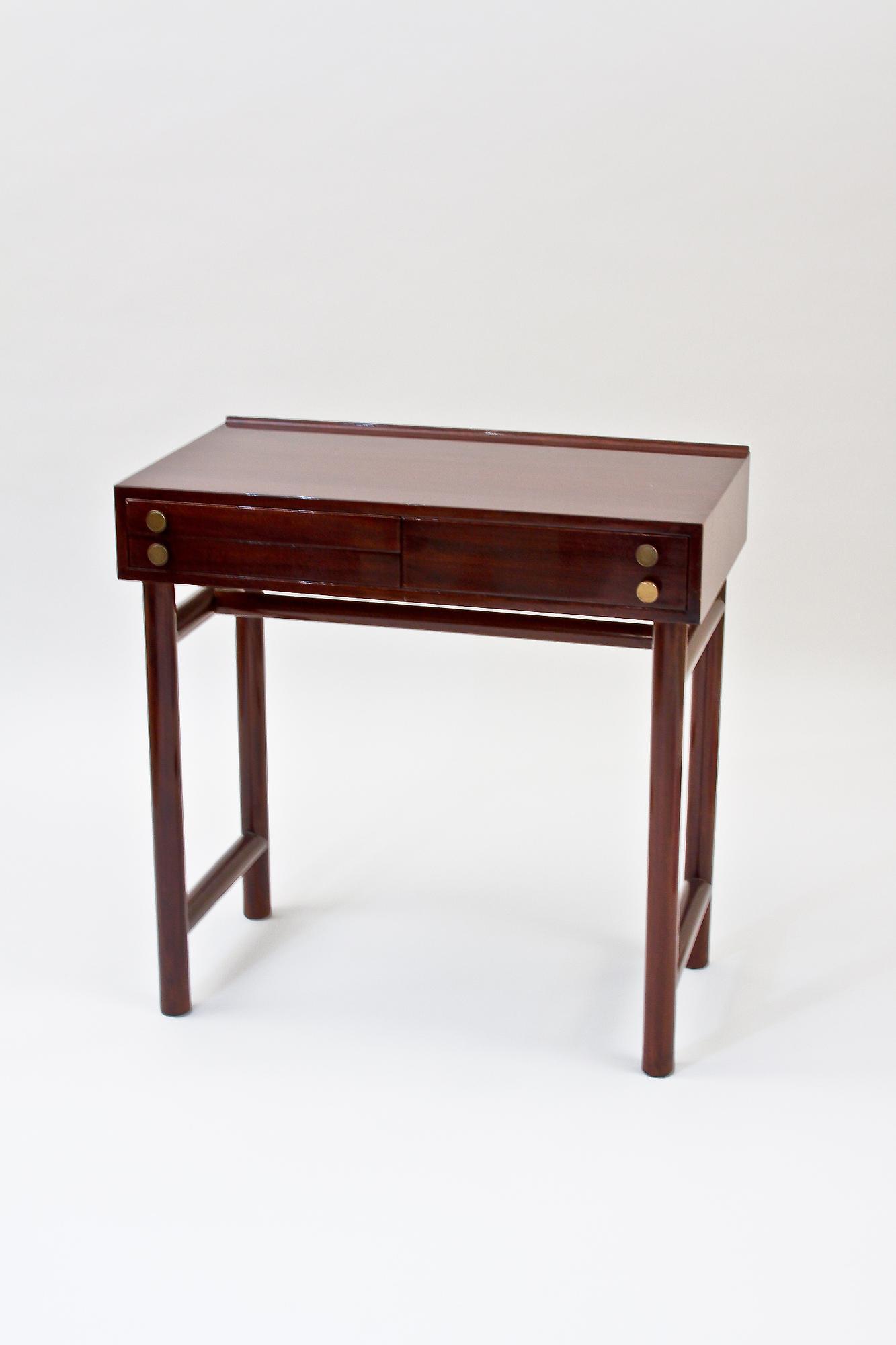 Ed Wormley for Dunbar  Writing Table and Swivel Chair 3