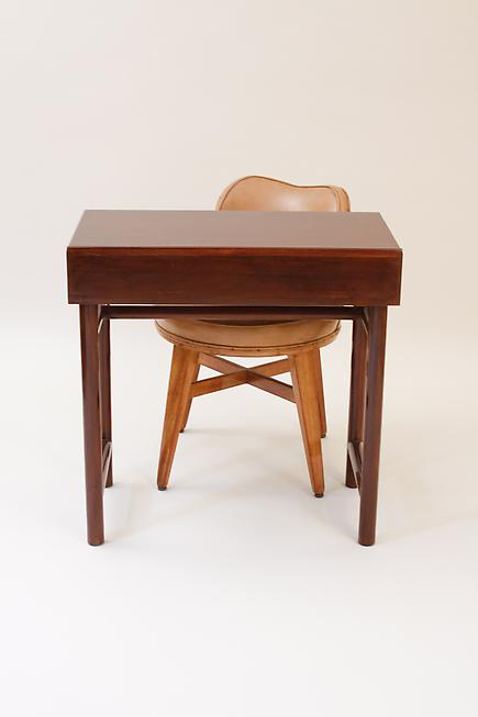 Ed Wormley for Dunbar  &lt;br&gt;Writing Table and Swivel Chair 2
