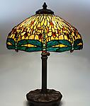 Tiffany Studios <br>Drophead Dragonfly Lamp