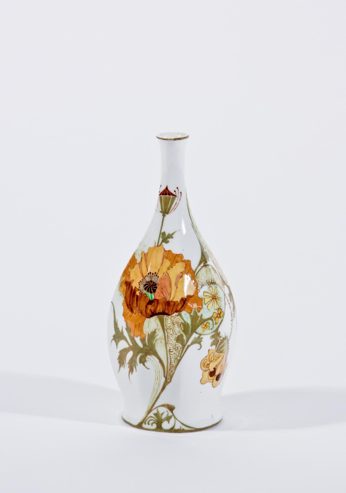 Rozenburg den Haag  Porcelain Vase 1