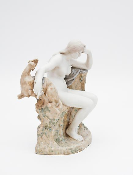 "Sevres  Sculptural Figure ""L'Enigme"" 3"