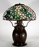Tiffany Studios <br>Dogwood Lamp