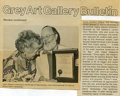 Lillian Nassau LLC - History 3