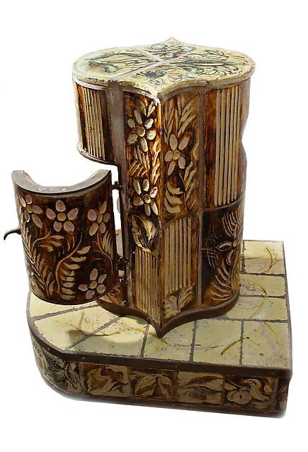 Henry Varnum Poor  Ceramic Stove 5