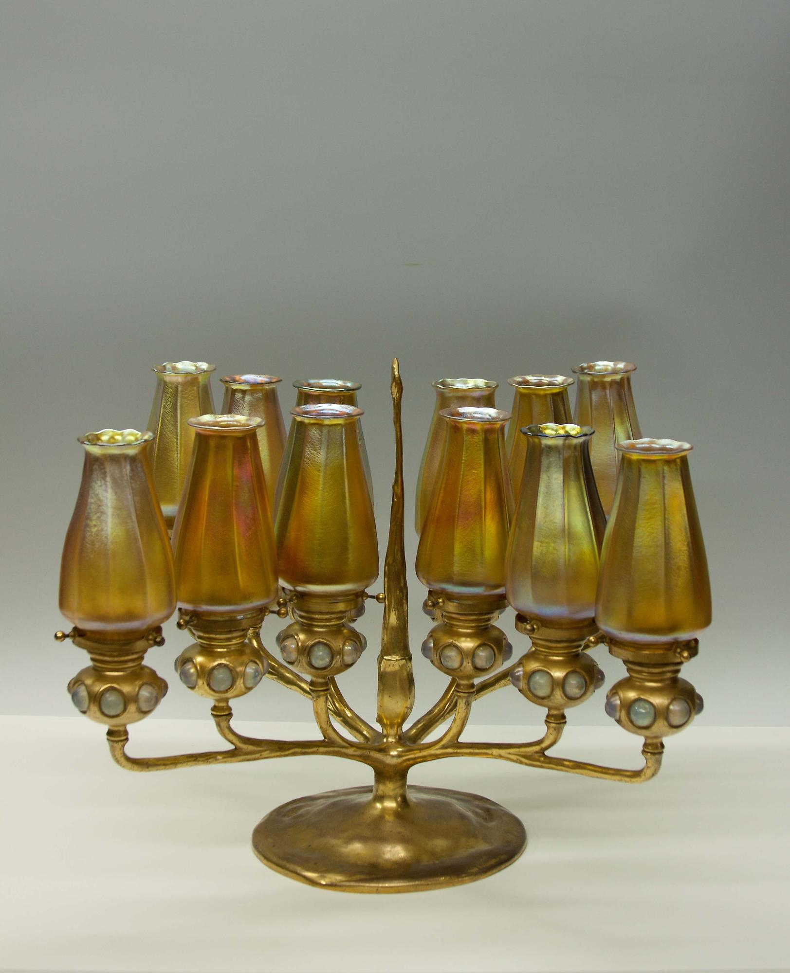 Tiffany Studios 12-Light Candelabrum 1