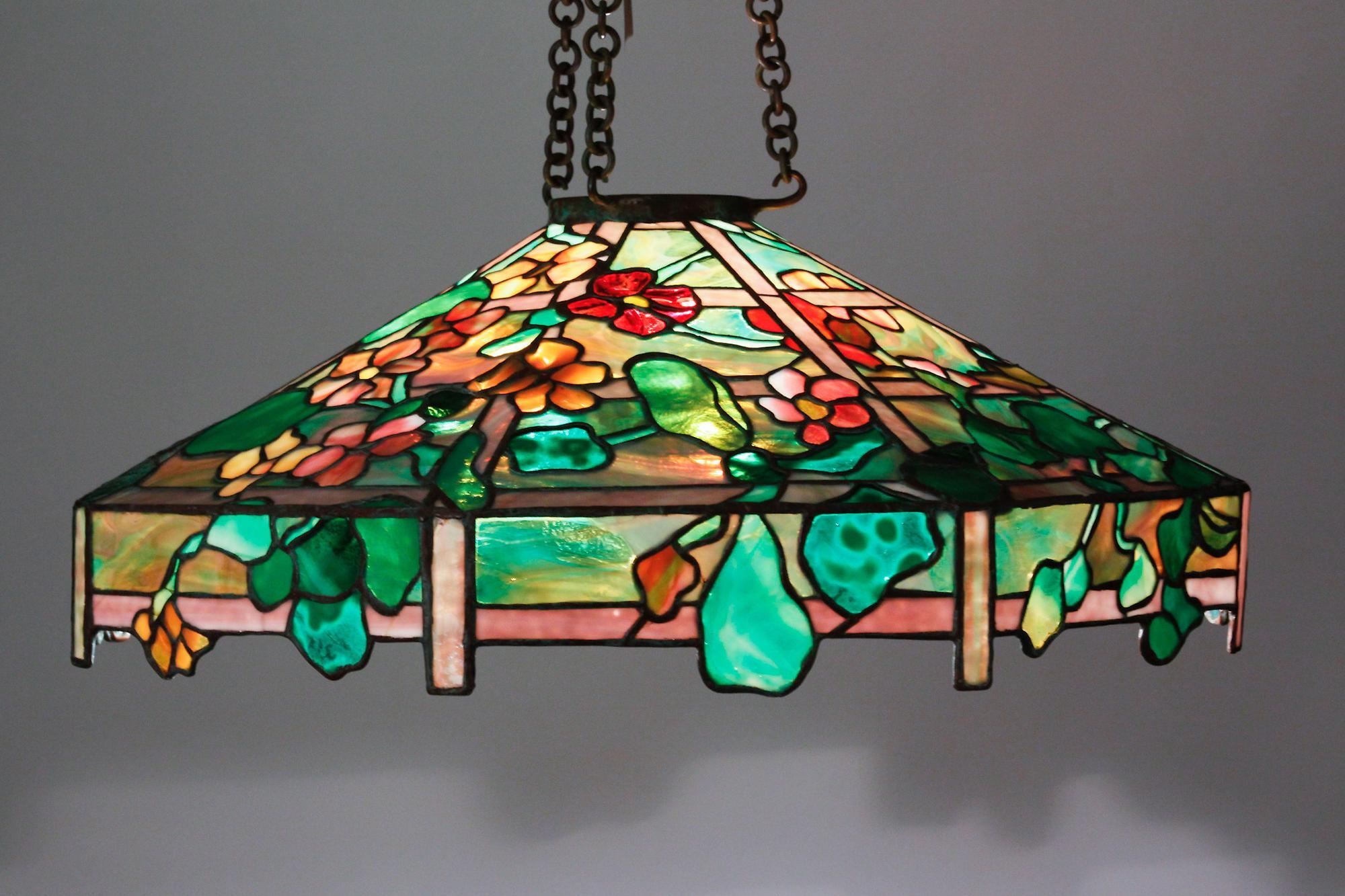 Tiffany Studios Nasturtium Chandelier 3
