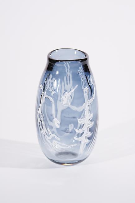 Orrefors Rare 'Ariel' Glass Vase 2