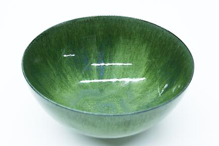Gertrud and Otto Natzler  Ceramic Bowl 1