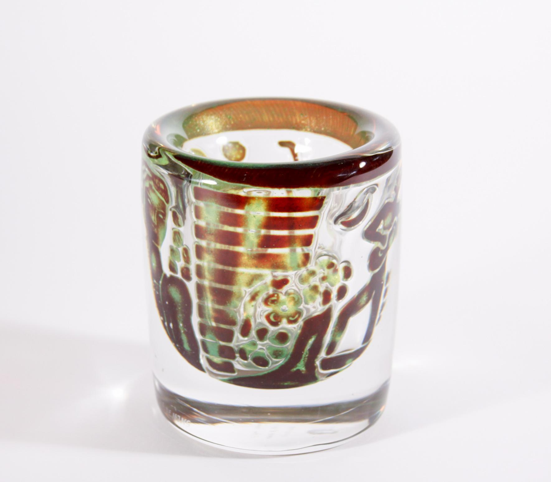 Orrefors 'Ariel' Glass Vase 4
