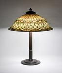 Tiffany Studios <br> Roman Helmet Table Lamp