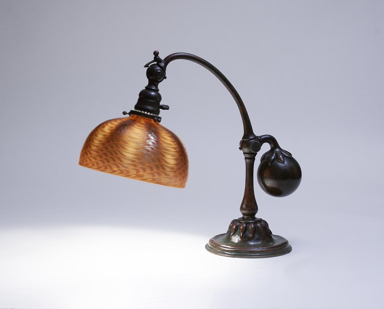 Tiffany Studios  Balance Weight Desk Lamp 1
