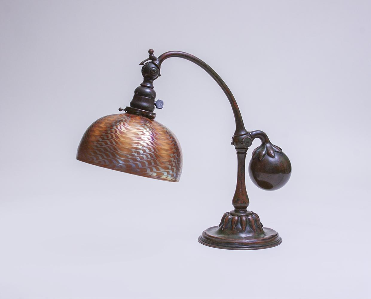 Tiffany Studios  Balance Weight Desk Lamp 2