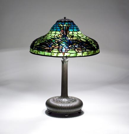Tiffany Studios <br> Rare Bird Lamp 1
